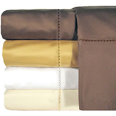 Veratex 800tc Cotton Sateen Embroidered Bella Set of 2 Pillowcases
