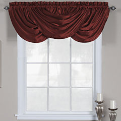 Versailles Rod-Pocket Waterfall Valance