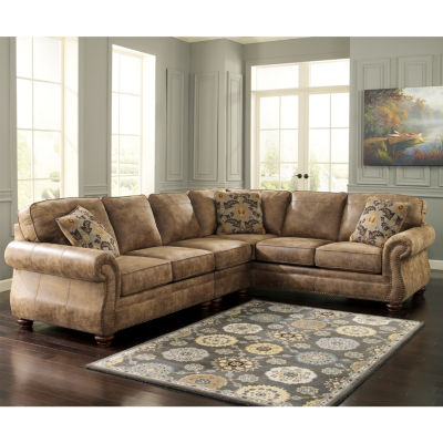 Lovely Signature Design By Ashley® Kennesaw 3 Pc. Sectional