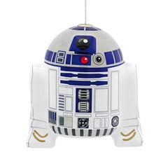 R2d2 Decoupage Christmas Ornament