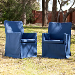 Tulum Set of 2 Outdoor Armchairs