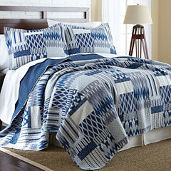 Pacific Coast Textiles Aubrey Reversible Quilt Set