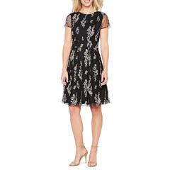 Scarlett Short Sleeve Party Dress