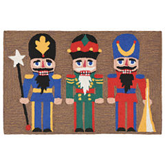 Liora Manne Frontporch Nutcracker Hand Tufted Rectangular Rugs