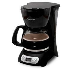 Continental Digital 4-Cup Coffee Maker