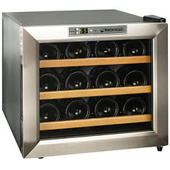 Wine Enthusiast® Silent 12-Bottle Wine Refrigerator