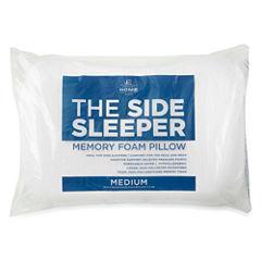 JCPenney Home Side Sleeper Memory Foam Medium Pillow