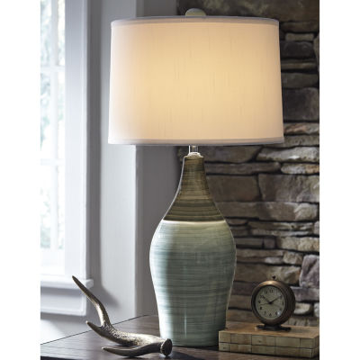 Captivating Signature Design By Ashley® Set Of 2 Niobe Table Lamps