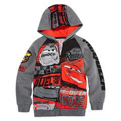 Disney Cars Fleece Jacket-Big Kid Boys