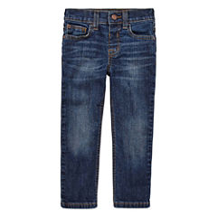 Arizona Boys Straight-Leg Stretch Denim - Toddler 2T-5T