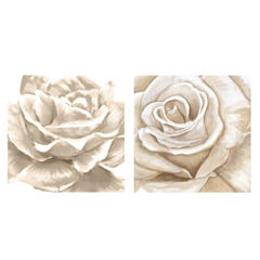 PTM Images™ White Roses Wall Art Collection