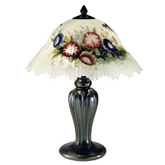 Dale Tiffany™ Hummingbird/Flower Table Lamp