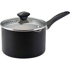 Farberware® 3-qt. Nonstick Covered Straining Saucepan