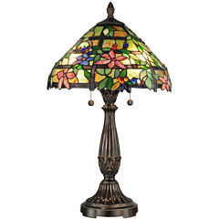 Dale Tiffany™ Rebecca Floral Tiffany Table Lamp