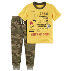 Carter's 2-pc. Camouflage Pant Set Baby Boys