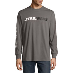Long Sleeve Star Wars Tv + Movies Graphic T-Shirt