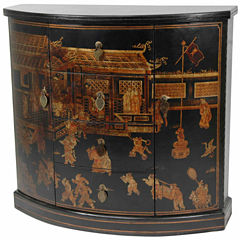 Oriental Furniture Village Market Accent Cabinet