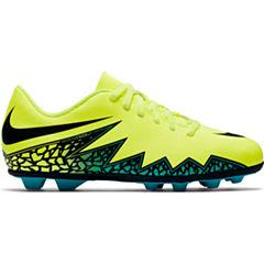 Nike® Jr. HyperVenom Phade II FG-R Cleats - Little Kids/Big Kids