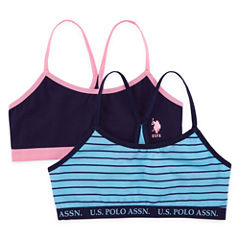 Us Polo Assn. 2-pc. Bralette-Big Kid Girls