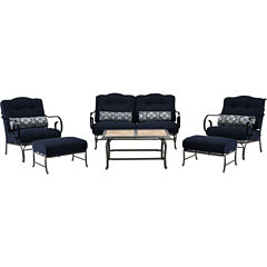 Hanover Oceana 6-pc. Conversation Set