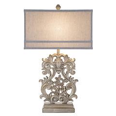Catalina Vera Resin Table Lamp