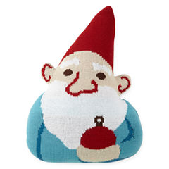 North Pole Trading Co. Gnome Throw Pillow