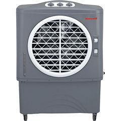 Honeywell 1062 CFM Indoor/Outdoor Evaporative AirCooler (Swamp Cooler) with Mechanical Controls in Gray