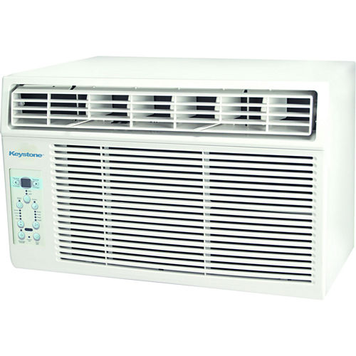 Keystone Energy Star 12000 BTU Window-Mounted AirConditioner with Follow Me LCD Remote Control