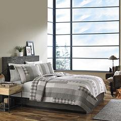 Eddie Bauer® Fairview Grey Quilt Set