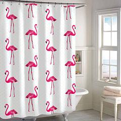 Destinations Flamingo Shower Curtain