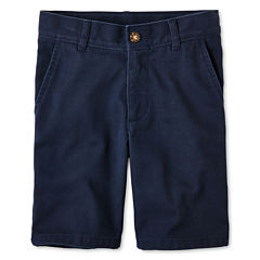 IZOD® Flat-Front Shorts - Boys 8-20, Slim and Husky