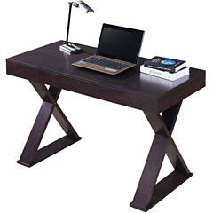 RTA Products LLC Techni Mobili Trendy Writing Desk with Drawer