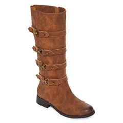 2 Lips Too Joe Womens Riding Boots