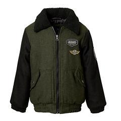 Wool Bomber Jacket- Boys Preschool