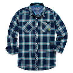 U.S. Polo Assn. Long Sleeve Button-Front Shirt Boys