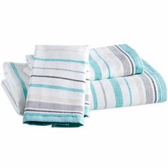 Destinations Sea Stripe Hand Towel