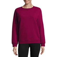 St. John's Bay Active Long Sleeve Sweatshirt