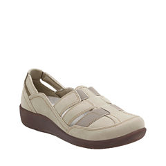 Clarks Sillian Stork Womens Slip-On Shoes
