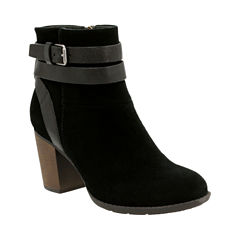 Clarks Enfield River Womens Bootie Wide