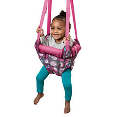 Evenflo Johnny Jump Up Pink Bumbly Baby Jumper