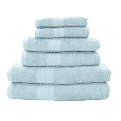Pacific Coast Textiles™ Rayon From Bamboo 6-Pc. Towel Set