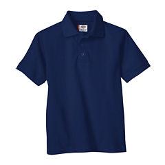 Dickies® Boys Short Sleeve Pique Polo- Preschool
