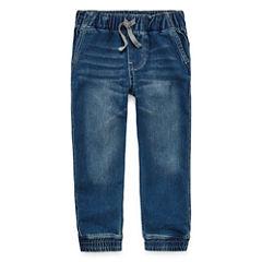 ArizonaDenim Jogger Pants - Toddler Boys