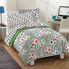 Dream Factory Soccer Comforter Set
