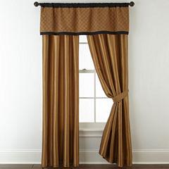 Royal Velvet Hayden 2-Pack Rod Pocket Curtain Panels