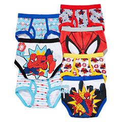 Spider-Man 7-pk. Briefs - Toddler Boys 2t-4t