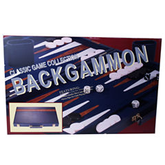 18 Attache Tournament Backgammon--Blue