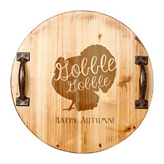 Cathy's Concepts Personalized Turkey Wood Serving Tray