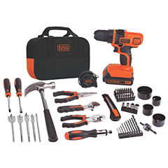 Black & Decker 20-Volt MAX Lithium Drill and Project Kit