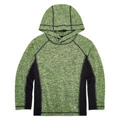 Xersion Long Sleeve Hooded Neck T-Shirt-Preschool Boys